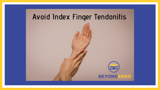 Avoiding Finger Tendonitis